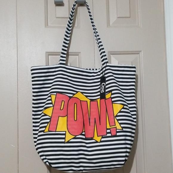 Sam Edelman Handbags - Sam by Edelman Superhero POW! tote